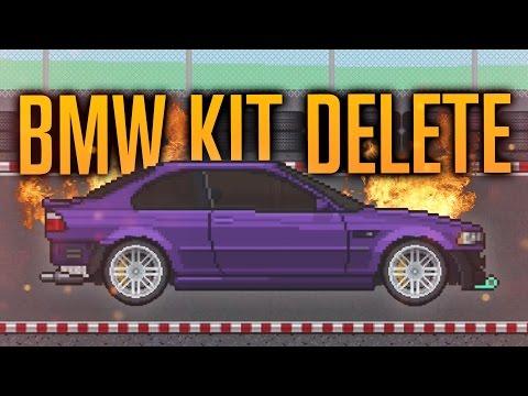 KIT DELETE BMW BUILD?!   PIXEL CAR RACER