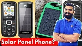 Why No Solar Panels on Phones Free Charging