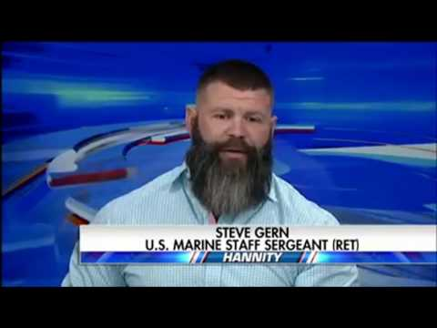 """FOX NEWS. Steven Gern, a retired U.S. Marine, says our enemies in Iraq and  Afghanistan are """"very g"""