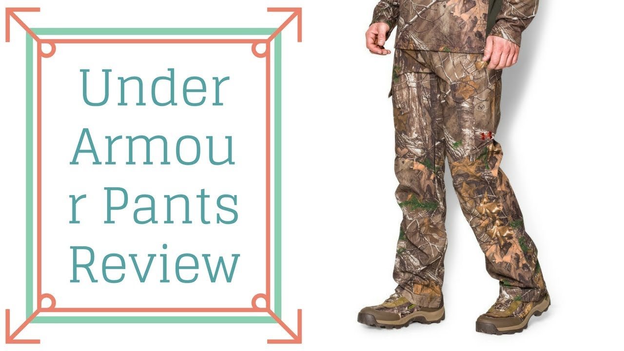 ad2a5502cae2a Best Hunting Pants Reviews | Under Armour Pants Review - YouTube
