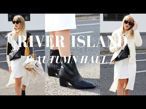 I SPENT £400 IN RIVER ISLAND! Autumn Fall New in Haul and Try On | High Street Shopping Series