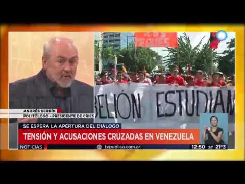 Tensión y acusaciones cruzadas en Venezuela || Television Publica Noticias Internacional