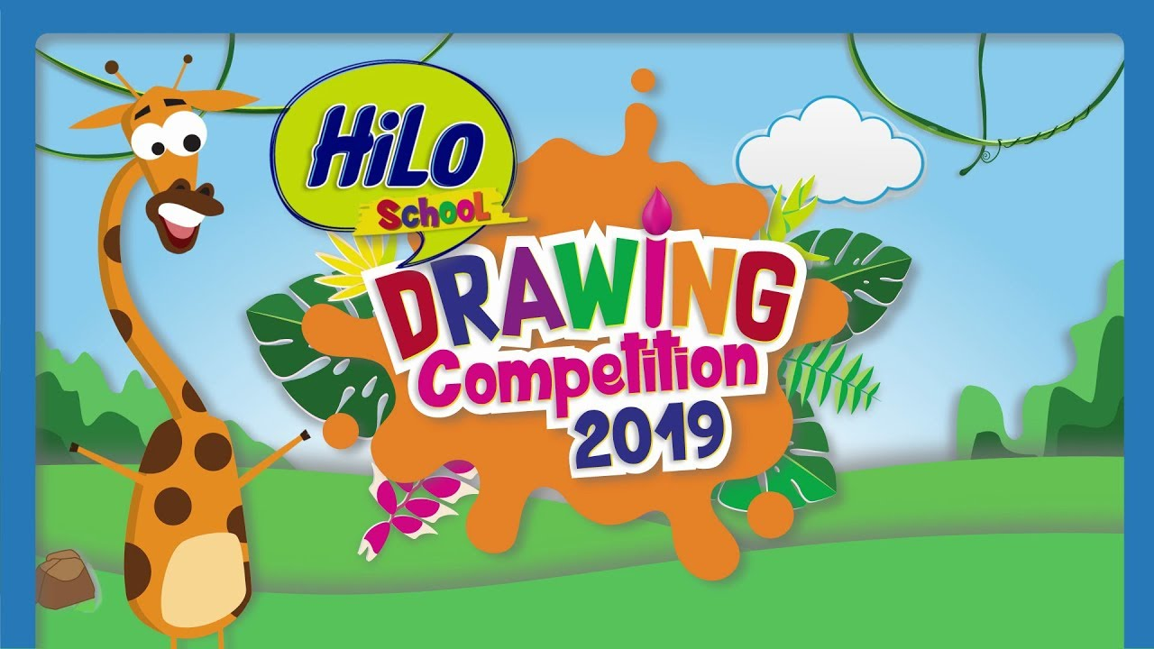Cara Ikutan Hilo School Drawing Competition 2019 Youtube