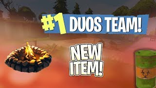 🔴 Fortnite New Patch // Top 1% of the 1% on the Duos Leaderboard [PS4 Pro]