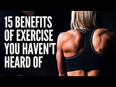 15 Reasons To Exercise | Extra Ordinary Benefits Of Exercises | Exercise and healthy Life