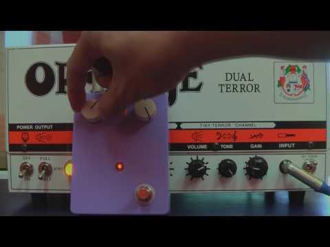 Buzz Sound Harmonic EVILATOR percolator fuzz