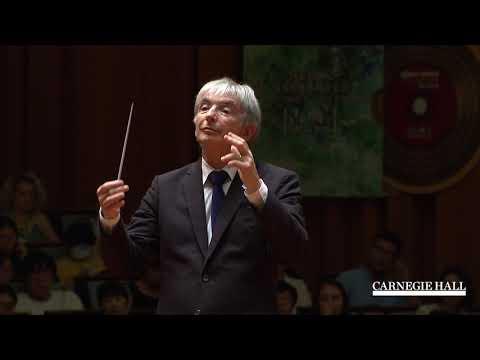 NYO-USA Performs Sibelius's Symphony No. 2 with Michael Tilson Thomas