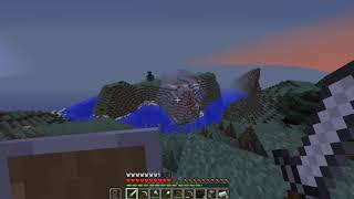 2серия про виживание в minecraft.Жосткая битва с мобами