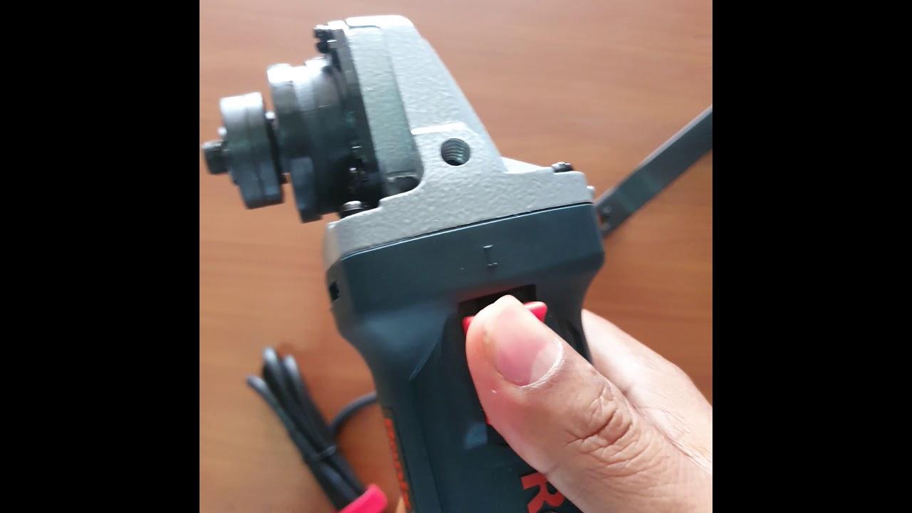 Download Ronix Mini Angle Grinder 100m model 3130
