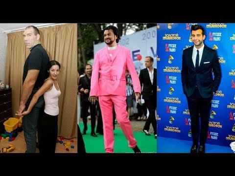 Самые высокие знаменитости мужчины России и Голливуда