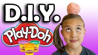 DIY PLAY DOH!!! Cooking with Jillian!
