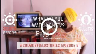 What do you watch on TV? - #SolarisFieldStories Episode 6