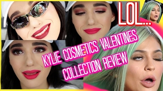 brutally honest kylie cosmetics valentines collection review giveaway   jordan byers