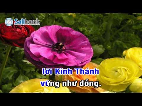 [Karaoke Thánh Ca HTTL-VN] 151 Lời Chúa Vững Lập  - Salibook