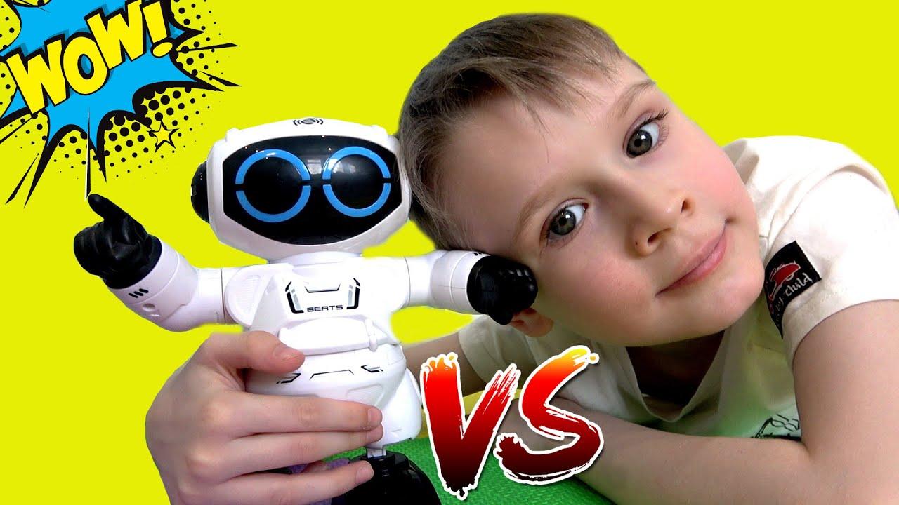 Макс и Робот танцор и ди джей Robo beats от silverlit для детей