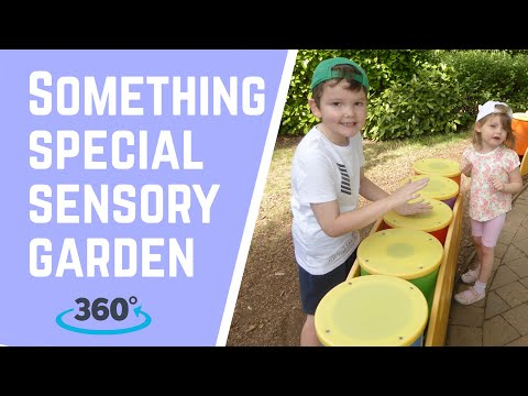 Something Special Sensory Garden | 360 Video | CBeebies Land | Alton Towers