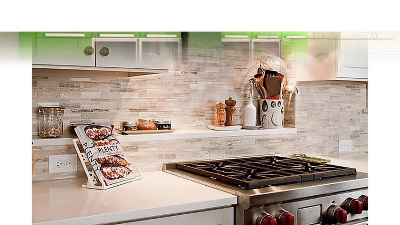Zeitgenössische Küche Backsplash Ideen
