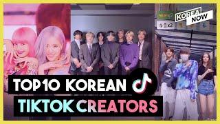 Top 10 Most Followed TikTok Creators of South Korea