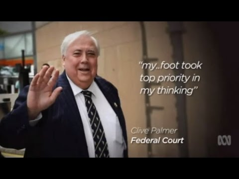 Clive Palmer says his foot was of higher priority than Qld Nickel collapse