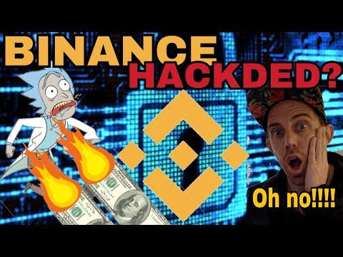Binance Exchange Hacked? -- 15% Of All Trade Volume For Crypto - 2-3 Billion of World's Trade Volume