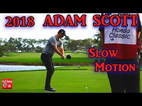 2018 ADAM SCOTT DTL SLOW MOTION DRIVER GOLF SWING 1080 HD