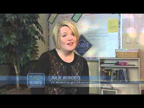 Sunrise Children's Services WHAS11 TV Special hosted by The Voice-Tribune's Angie Fenton