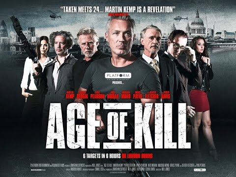 AGE OF KILL - Trailer Starring Martin Kemp (2015)