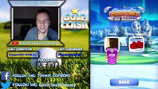 Golf Clash LIVESTREAM, Giveaway MADNESS!! Giving away 17K gems! thumbnail
