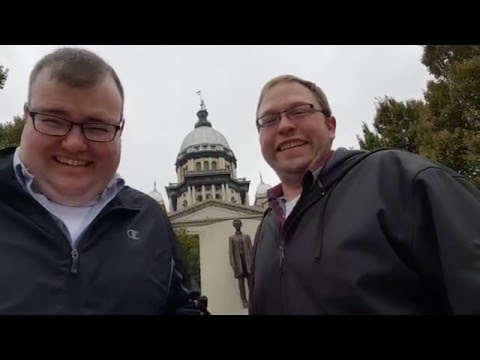 Two friends tour Springfield, Illinois. It's ridiculous