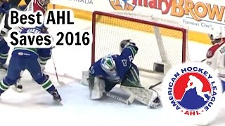 BEST AHL SAVES 2016