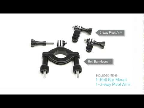 GoPro HD: Roll Bar Mount Tutorial