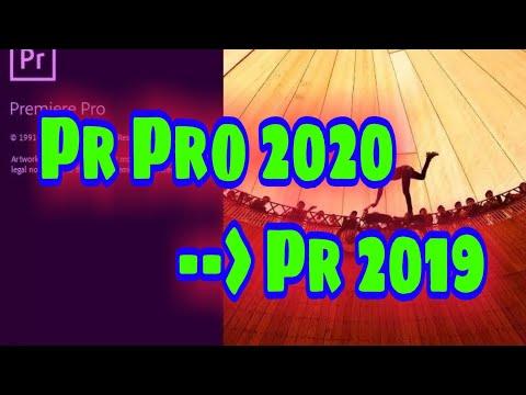Cách mở file project PREMIERE ở phiên bản cao 2020 xuổng phiên bản thấp 2019