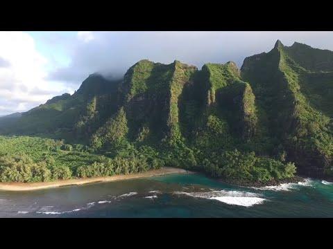 Northern Kauai Beach (Ke'e beach)