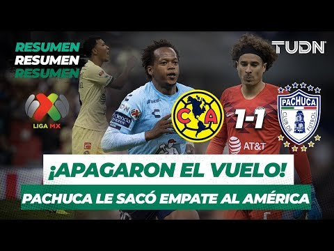 Resumen y Goles América 1 -  1 Pachuca | Liga MX   Apertura 2019   Jornada 7 | TUDN