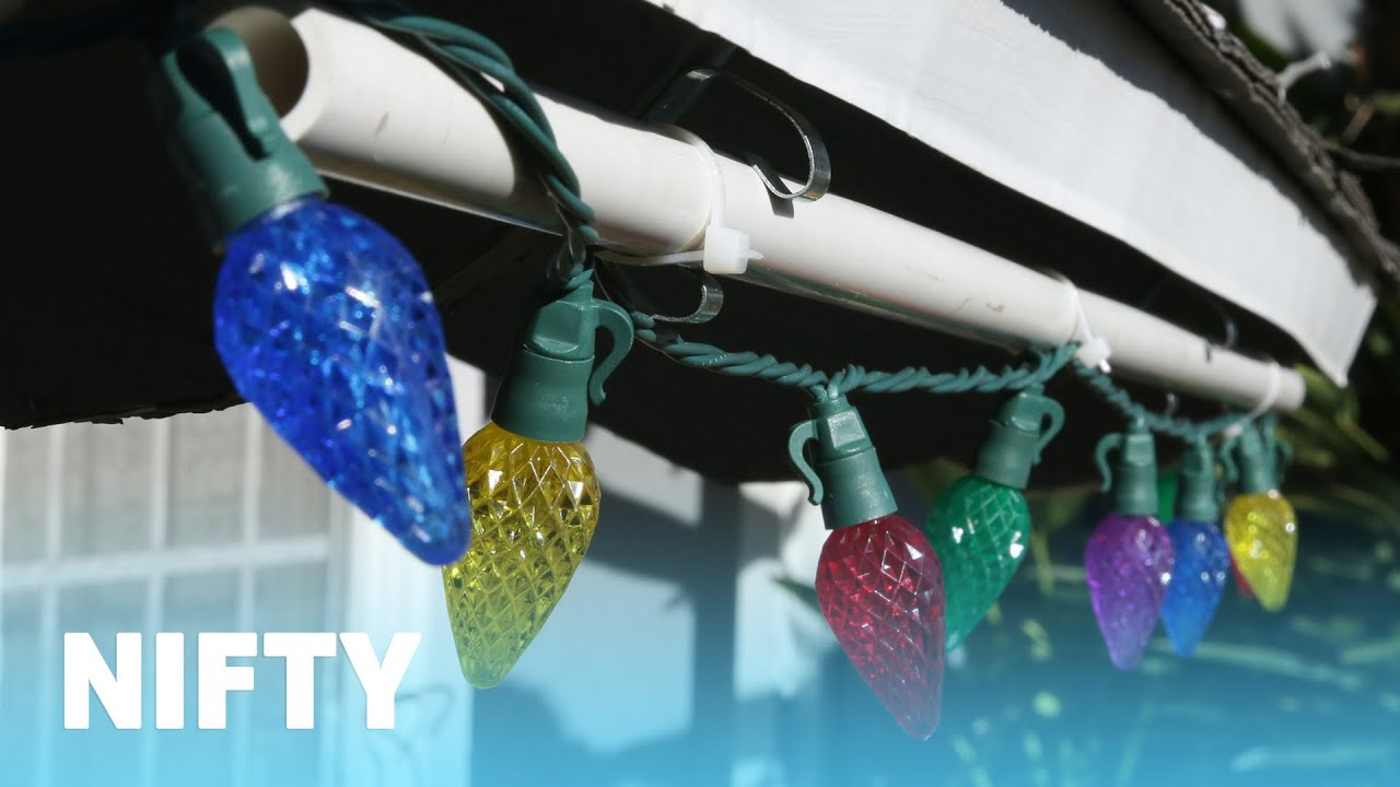 How To Hang Outdoor Christmas Lights.No Hassle Outdoor Christmas Lights