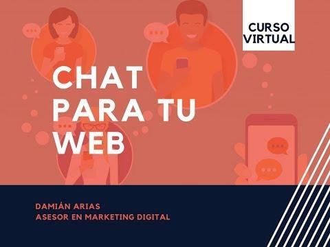 Crear Un Chat Para Atender A Los Usuarios De Tu Página En Tiempo Real Y Desde Tu Movil