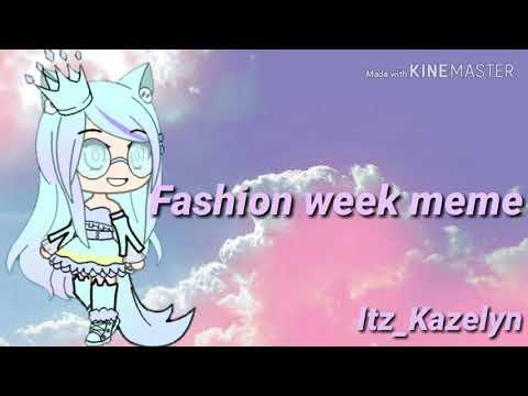 Fashion Week Meme// Gift For Gamix Sam