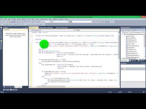 Creating a School Management Software Part 5