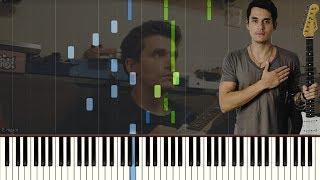 John Mayer - Carry Me Away (Piano Tutorial + Sheet Music)