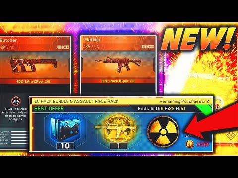 2 EPIC WEAPONS in NEW ASSAULT RIFLE HACK!  (GUARANTEED EPIC and Legendary WEAPON) - Infinite Warfare