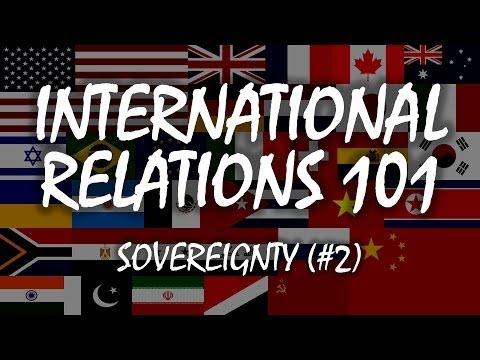International Relations 101 (#2): Sovereignty