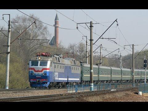 ZDSimulator - Multiplayer. ЧС7 - 094 с дополнительным поездом №560 - Познань - Москва