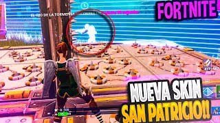 NEW SKIN OF SAN PATRICIO DAY!! | FORTNITE: Battle Royale ? Rubinho vlc