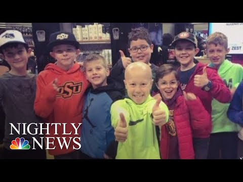 Maverick - Third Graders Shave Their Heads to Support Classmate