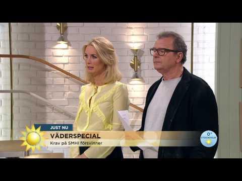 Krav på SMHI försvinner - Nyhetsmorgon (TV4)