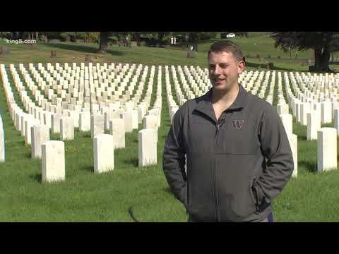American Legion Members Volunteer To Pressure Wash Veteran Graves