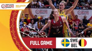 Sweden v Belgium - Full Game - FIBA Women's Olympic Qualifying Tournament 2020