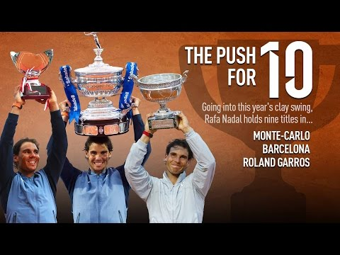 Nadal's Push For 10 Monte Carlo Crowns