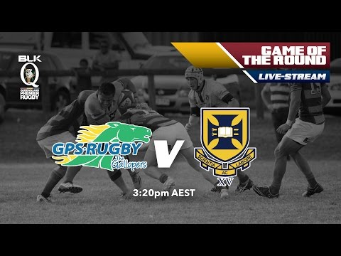 BLK Queensland Premier Rugby: GPS v University of Queensland