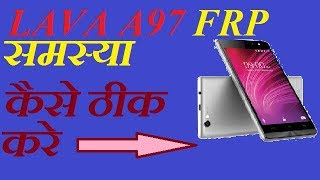 lava a97 frp |unlock || googel account bypass and remove